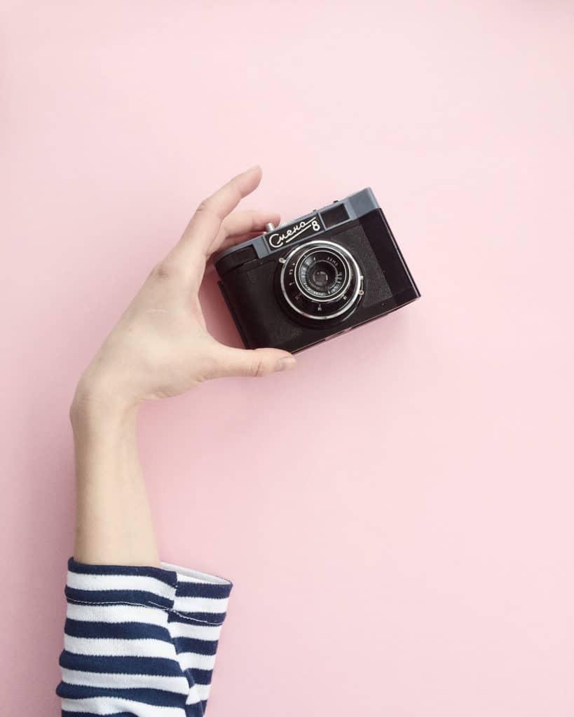 cámara en mano para un proyrcto 365