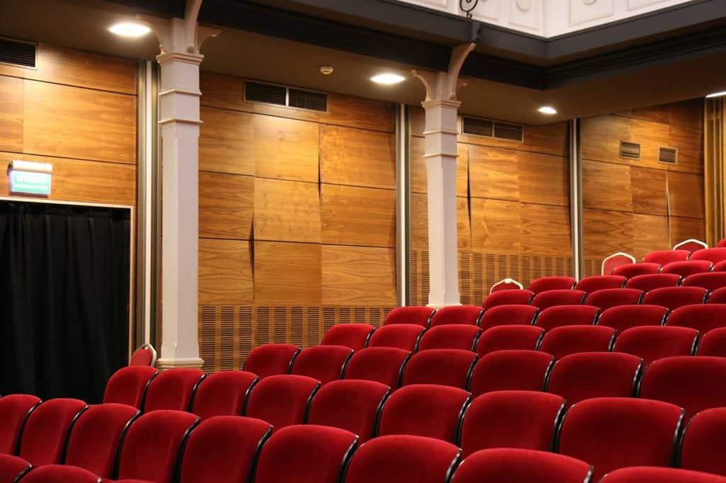 festival de cine para ciegos, sala de cine